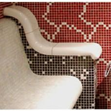 Облицовка керамична за подлакътник висок за пейка наклонена, анатомична и т.баня долепен
