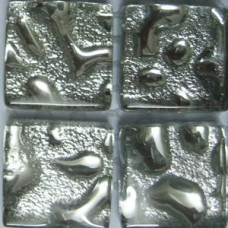 Стъклокерамика Lyrette Silver, 20x20x5мм