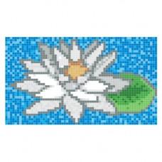 Стъклокерамична фигура лилия 143x88см