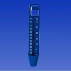 Термометър за басейн Friendly Water, потопяем, плосък