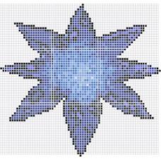 Стъклокерамична фигура еделвайс, 2.7х2.88м, площ 7.78м2
