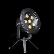 Прожектор диоден мини  LED RGB, 9x3W 24V, RGB