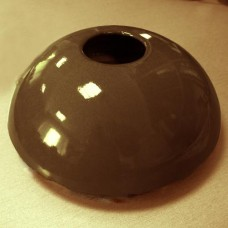 Капачка за фонтан керамична кафява