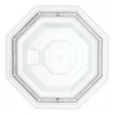 Хидромасажна вана Natalie с преливник, 253*253 см, h= 102 см