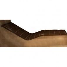 Облицовка керамична за лежанка с размери 220х80см в центъра на помещение