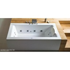 Хидромасажна вана Windsor 190х85, система Silver 1, бяла, хром