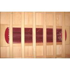 Инфраред кабина, модулна, 3 места, 135х64х100х193 cm