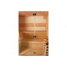 Сауна суха, готова кабина от бял бор, за 4 – 5 човека, 200х150х200 см